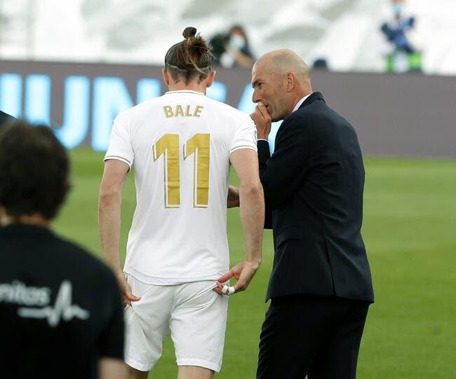 Madrid : Gareth Bale va pourrir la vie de Zidane jusqu'en 2022