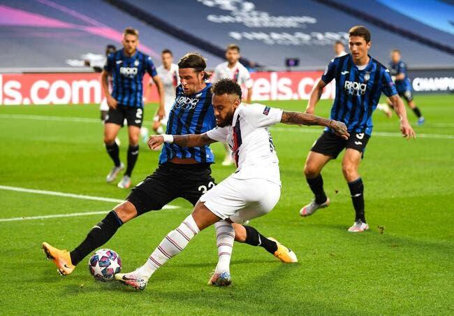 LdC : Le PSG mené par l'Atalanta à la pause (0-1)