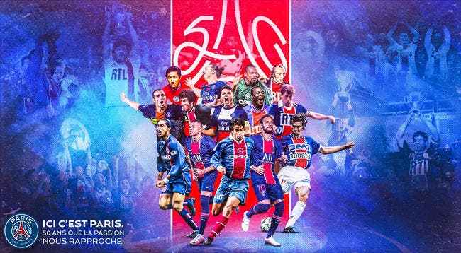 PSG : Paris fête ses 50 ans, Cavani s'invite de force !