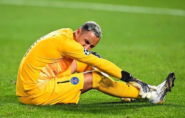 PSG : Navas officiellement «incertain» pour la 1/2 finale
