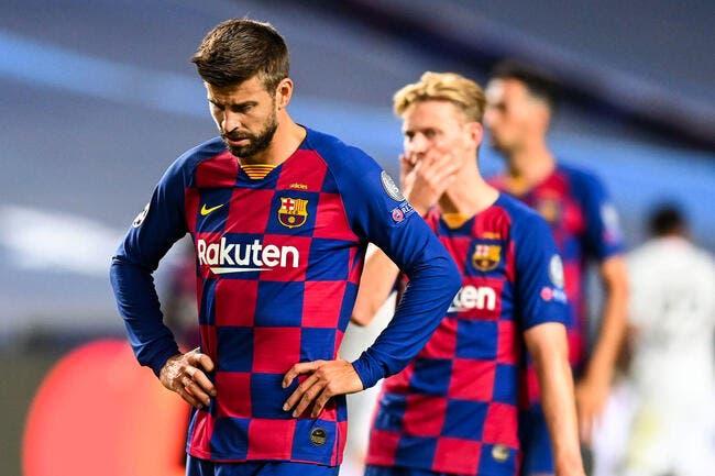 Esp : Piqué prêt à quitter le Barça après cette «honte»