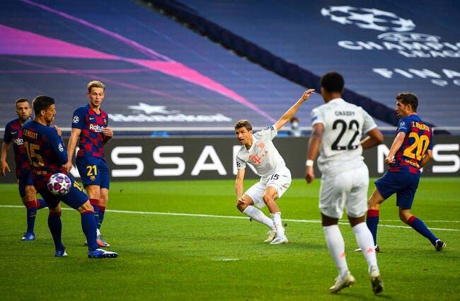 LdC : Le Bayern met KO le Barça à la pause (4-1)