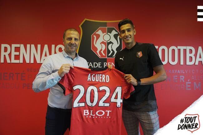 Mercato : Nayef Aguerd quitte Dijon et signe à Rennes