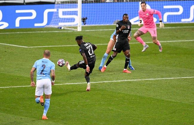 LdC : Lyon domine Man City à la pause, merci Cornet !