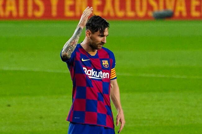 Esp: Messi tabassé en Angleterre, un attaquant le lui déconseille