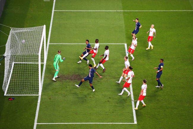 LdC : le PSG mène 2-0 contre Leipzig à la pause