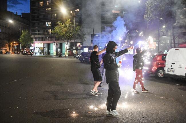 PSG : Le Parc des Princes et tout Paris en feu