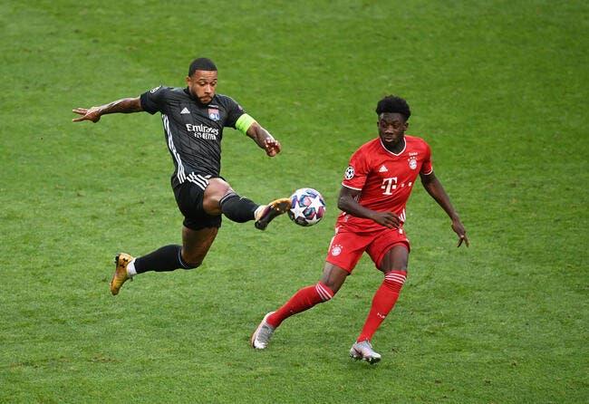 LDC : Lyon mené à la pause, c'est dur !