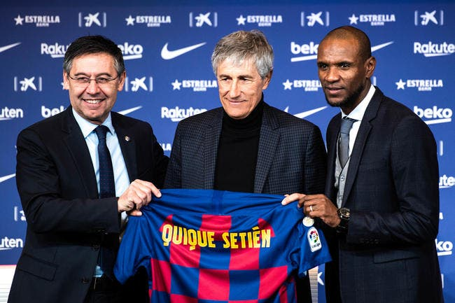 Barça : Eric Abidal viré, la mise au point