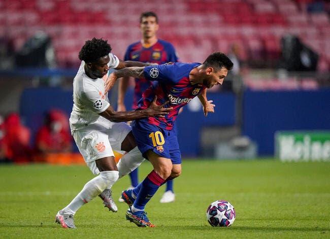 LdC : Messi très mauvais perdant, ça se confirme