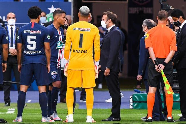 OM : Macron se mêle de l'affaire du maillot du PSG