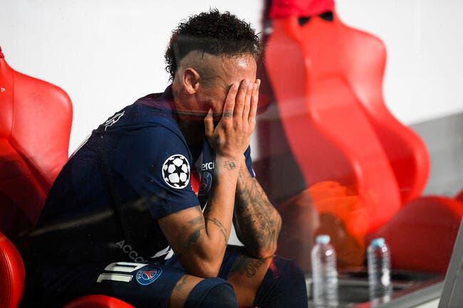 PSG : Neymar termine en larmes pendant de longues minutes