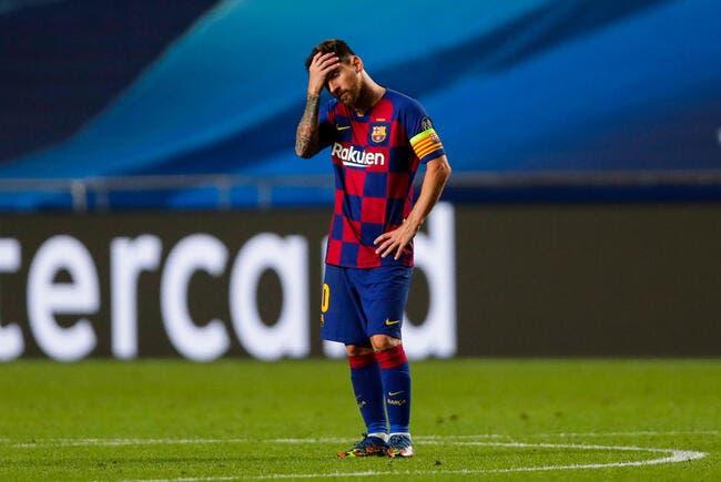 La bombe, Lionel Messi et le Barça, c'est fini