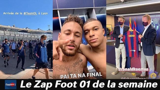 WTF : Le Bayern fait pleurer Neymar, La L1 est repartie, Rami règle ses comptes