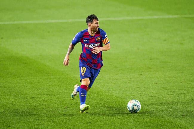 Esp : Messi refuse de reprendre l'entraînement à Barcelone !