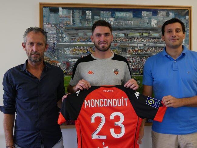 Mercato : Monconduit s'engage avec Lorient jusqu'en 2023