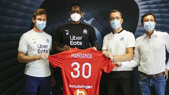 OM : Mandanda prolonge jusqu'en 2024 avec Marseille !