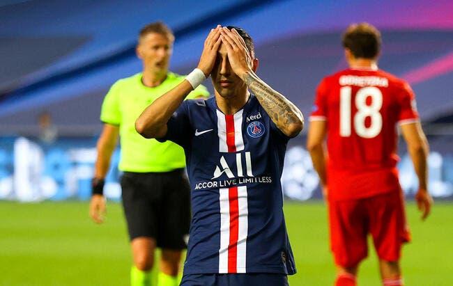 PSG: Di Maria éjecté pour Messi, Riolo voit Paris sacré en C1