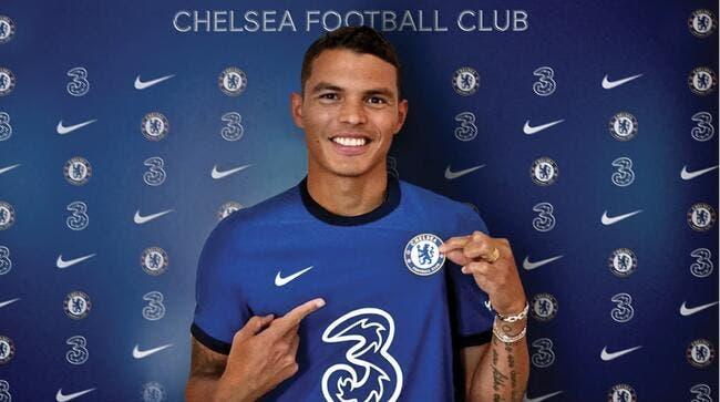 Officiel : Thiago Silva signe un contrat en or à Chelsea