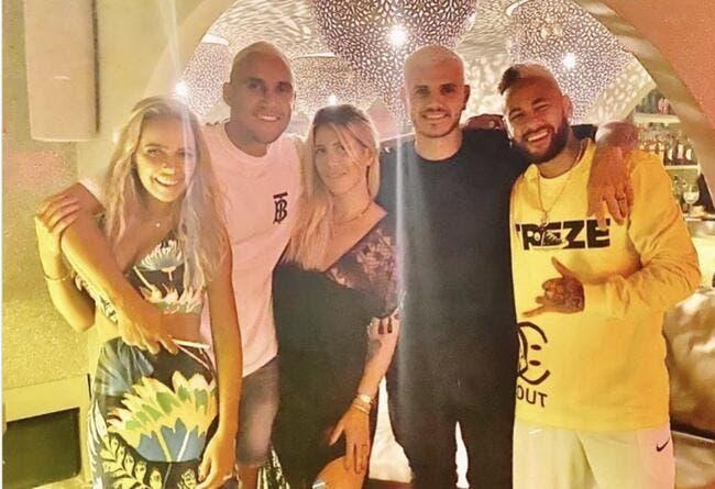 PSG : Loin de Lens, Neymar and Co ramènent Cavani à Ibiza