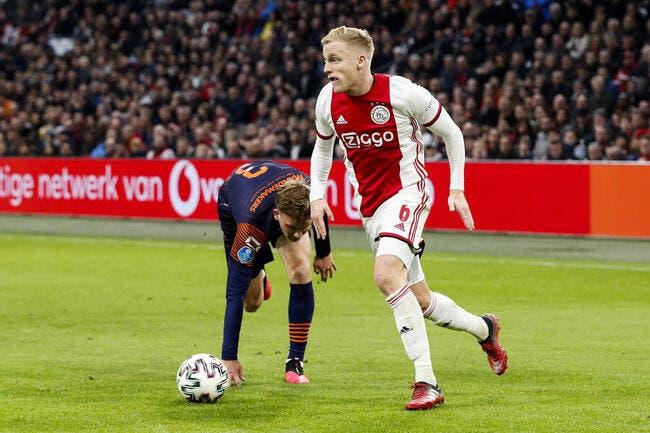 Mercato : L'Ajax le confirme, Van de Beek va partir !