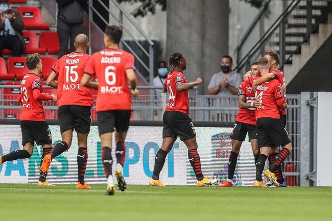 Des montants, des rouges et Camavinga, Rennes gagne avec la manière