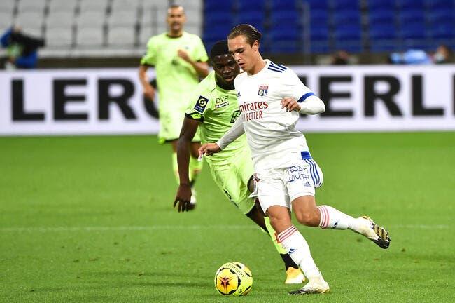 OL: Du Bayern à Dijon, Maxence Caqueret a eu le vertige