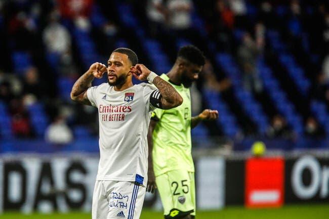 OL : Pas d'Europe, Memphis Depay menace Lyon !