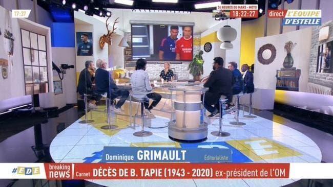 OM : L'Equipe annonce sa mort, Bernard Tapie en rigole