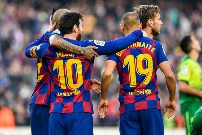 Barça : Messi va partir, la demande osée de Martin Braithwaite !