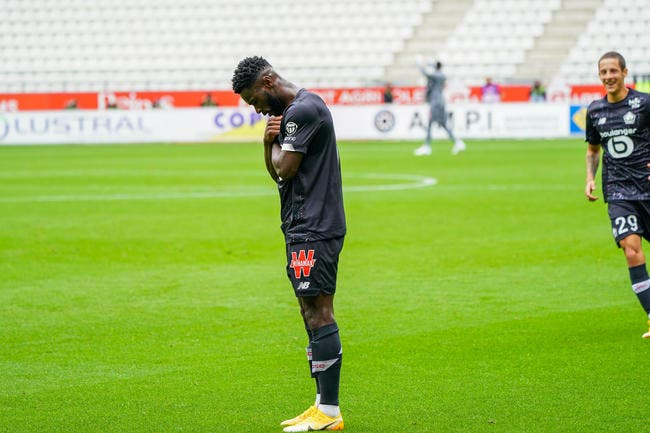 L1 : Avec Bamba, Lille reprend son envol