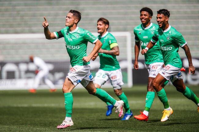 L1 : Hamouma lance l'ASSE, Nantes, Monaco et Bordeaux grimpent