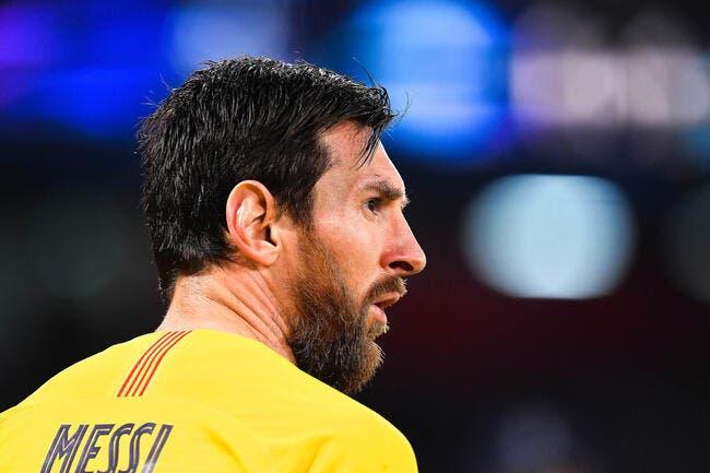 Esp : Messi refuse de s'entraîner, Barcelone attaque