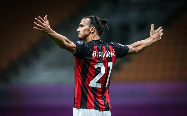 Ita : Zlatan Ibrahimovic prolonge à l'AC Milan !