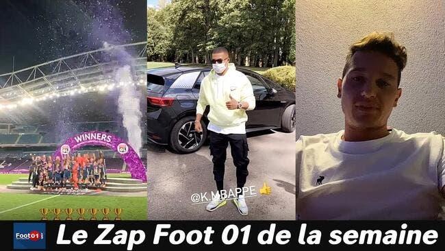 WTF : Neymar bosse dur à Ibiza, Alvaro rendu fou par une cigale, les filles de l'OL font la fête