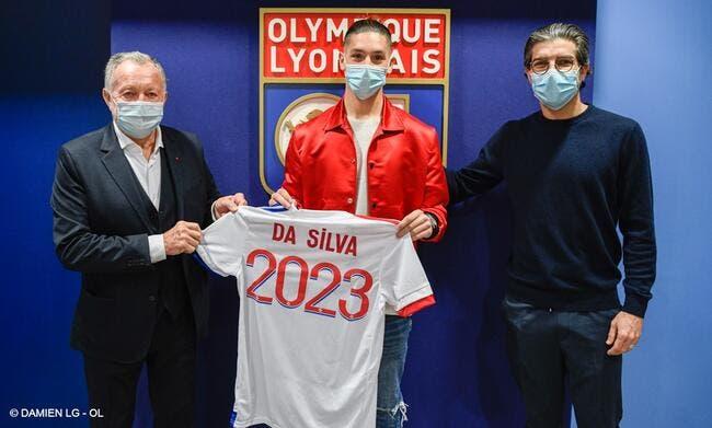 OL : La pépite Da Silva signe jusqu'en 2023