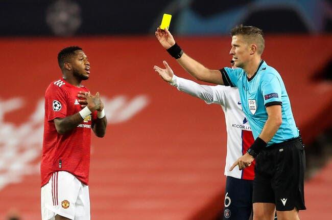 PSG : Carton jaune pour Fred, la polémique éclate