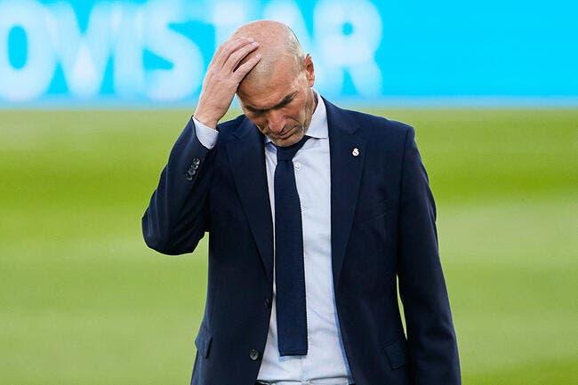 Real Madrid: Zidane demande un nouvel effectif au Père Noël