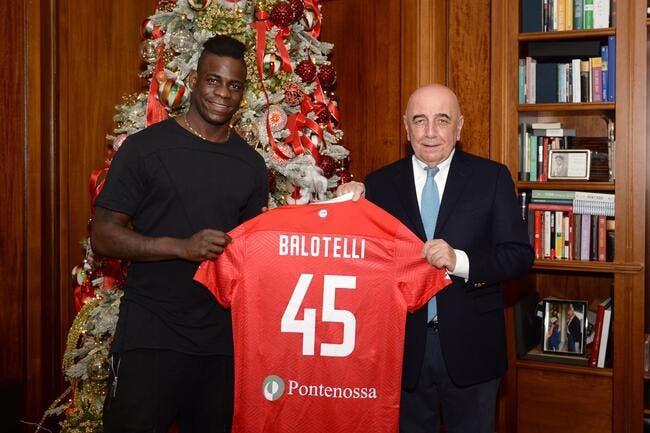 Balotelli va rebondir à Monza — Italie