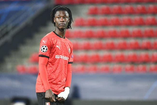 Rennes: Focalisé sur Madrid, Camavinga met son rêve en danger