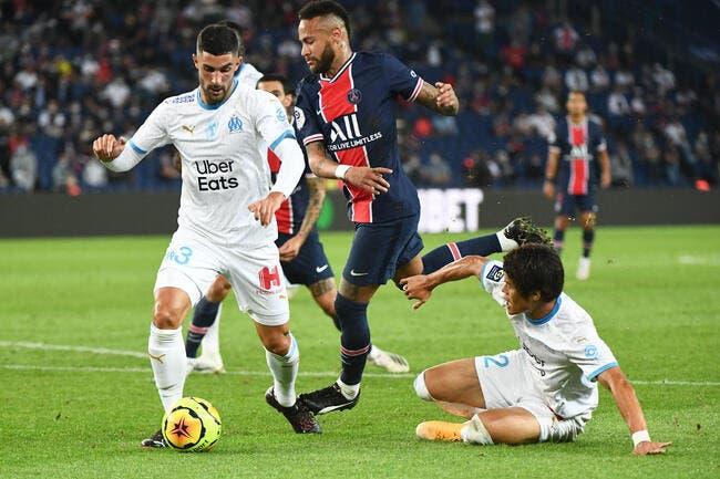 PSG-OM : Neymar charge Alvaro et affiche un gros regret