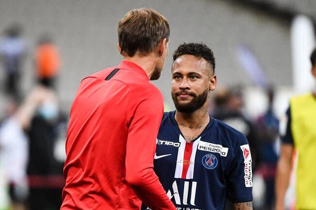 PSG : Neymar mis à l'écart, Tuchel a une explication