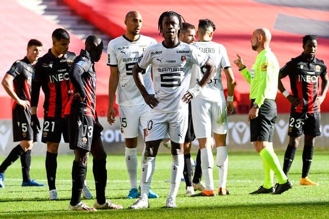 L1 : Rennes retrouve la victoire, Nice s'enfonce !