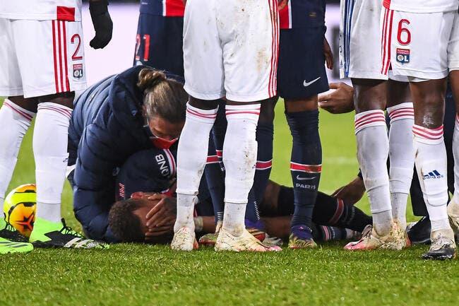 PSG : Neymar blessé à la cheville, Paris tremble !