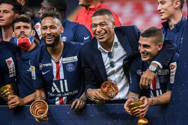 PSG : Neymar et Mbappé vont prolonger, Verratti y croit à 100%