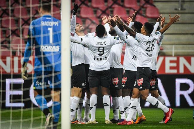 L1 : Le LOSC solide leader, Nantes et Montpellier chutent
