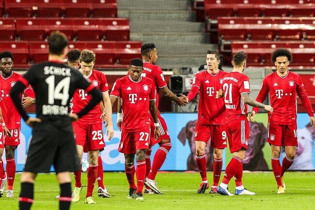 Bundesliga : Le Bayern crucifie le Bayer