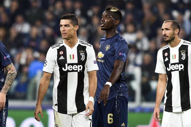 Mercato : Manchester refuse CR7, même pour Pogba