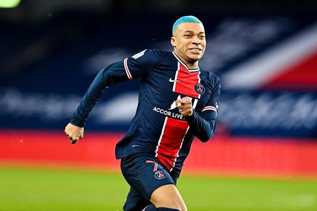 PSG : Mbappé remplaçant contre Lille