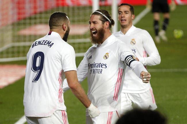 Esp. : le Real et Benzema enchaînent !